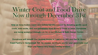 Winter Coat & Food Drive